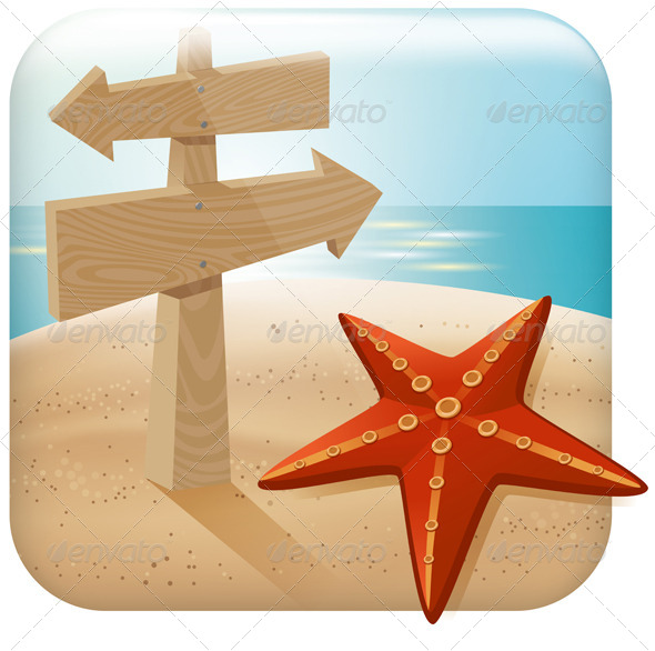 GraphicRiver App Travel Icon 6653900