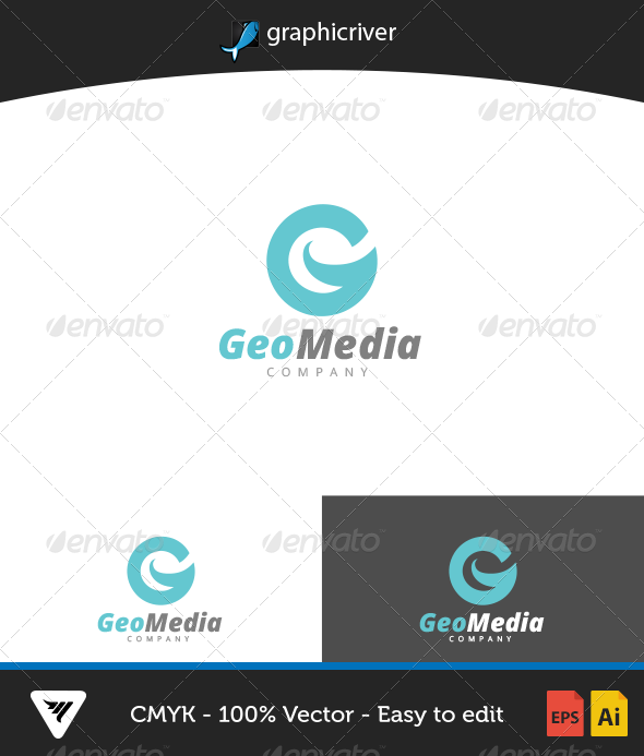 GraphicRiver Geomedia Logo 6653969