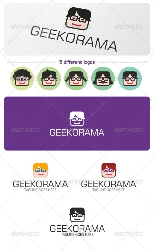 GraphicRiver Geekorama Logo 6653994