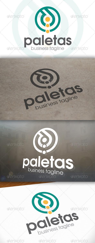 GraphicRiver Paletas Logo 6654023