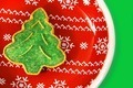 Green Christmas tree cookie - PhotoDune Item for Sale