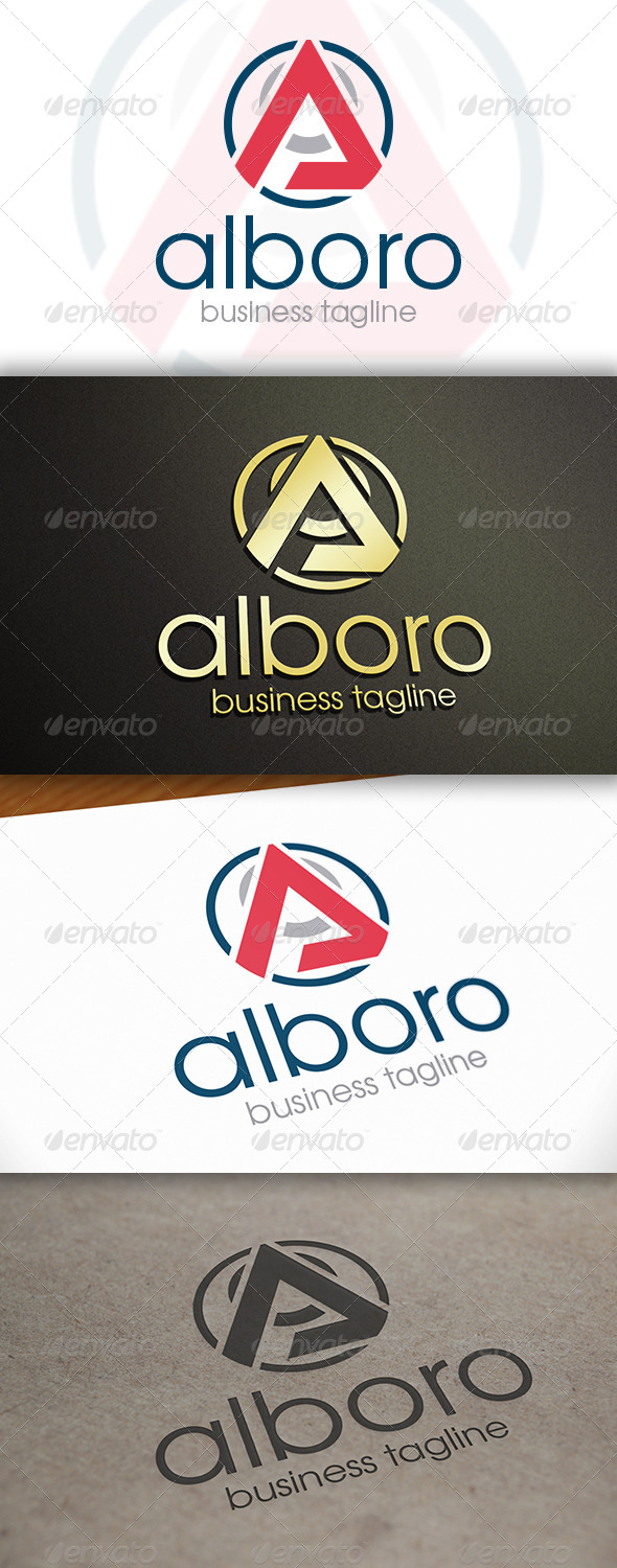 GraphicRiver Abstract A Letter Logo 6654221
