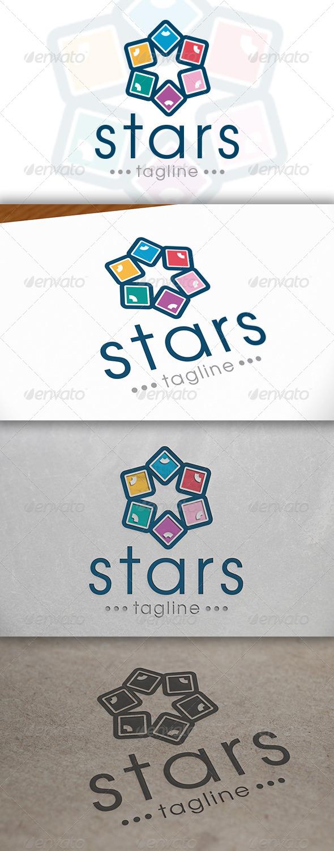 GraphicRiver Star Logo Template 6654543
