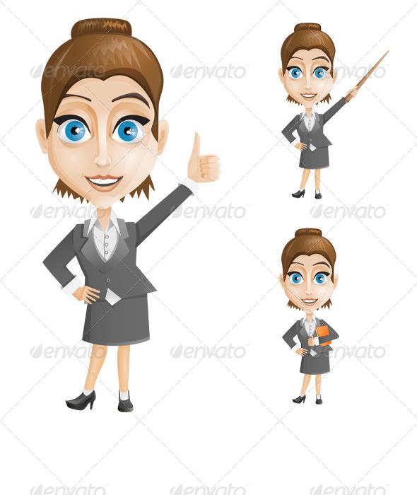 GraphicRiver Businesswoman 6654587
