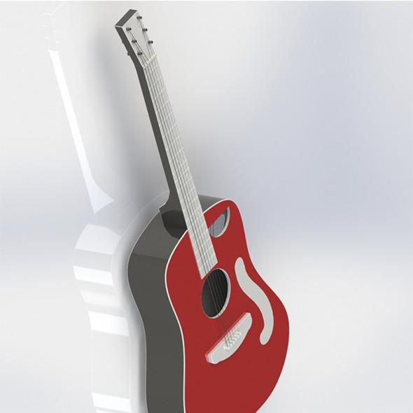 3DOcean Classical Guitar 6654756