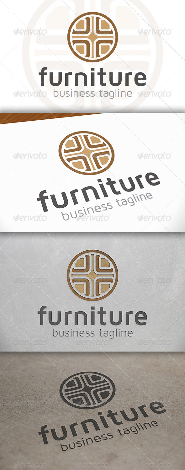 GraphicRiver Furniture Logo 6654774
