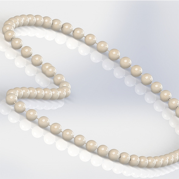 White Pearl - 3DOcean Item for Sale