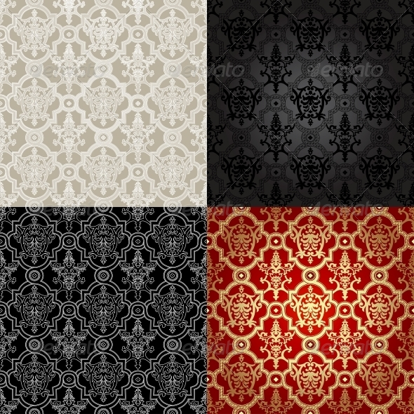 GraphicRiver Set of Seamless Patterns in Islamic Style 6654942