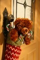Teddy bear in stocking - PhotoDune Item for Sale