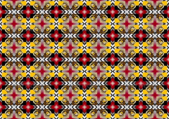 Coloured Background Mosaic. - Stock Photo - Images