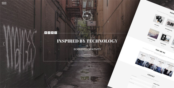 Hephaestus - One-Page Creative Template - Creative Site Templates