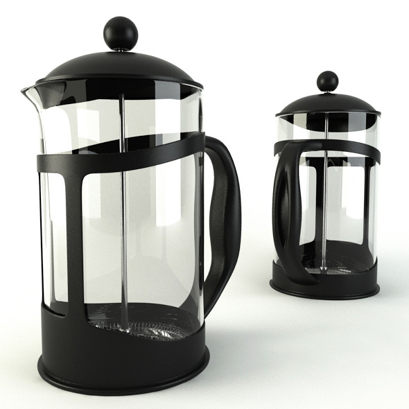 3DOcean Coffee Cafetiere 6655480