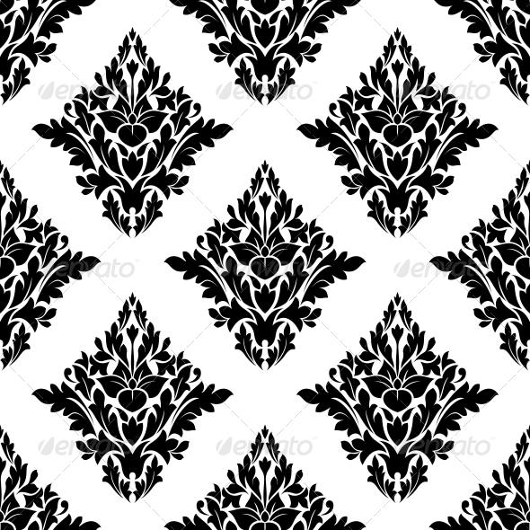 GraphicRiver Seamless Arabesque Pattern in Diamond Shape 6655681