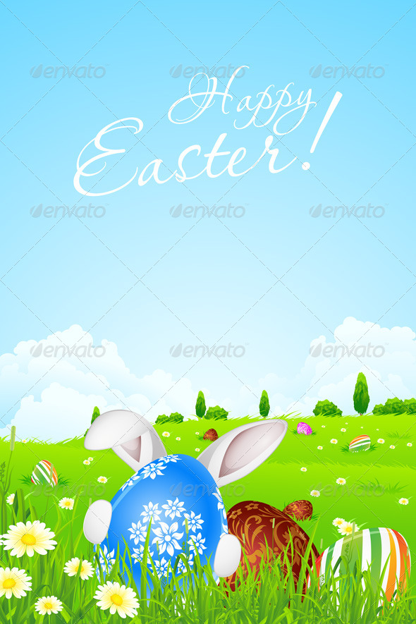 GraphicRiver Easter Background 6656066