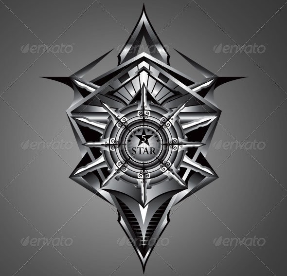 GraphicRiver 5 Star Crest 6648372