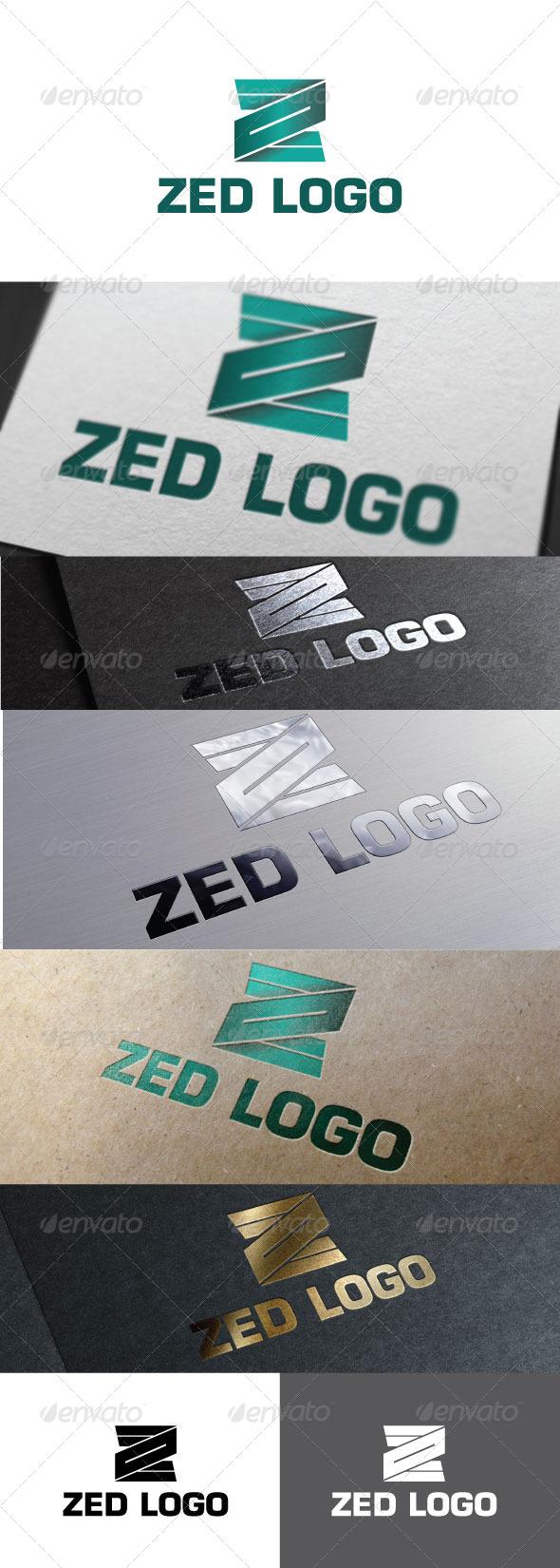 GraphicRiver Zed Logo Template 6656841