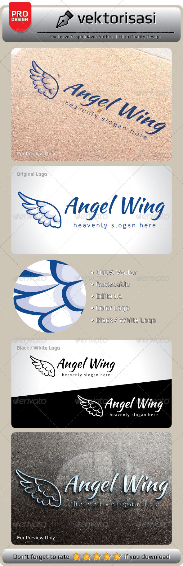 GraphicRiver Angel Wing 6656966