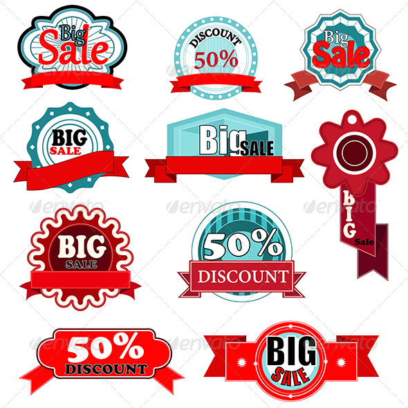 GraphicRiver Sale Icons 6657731