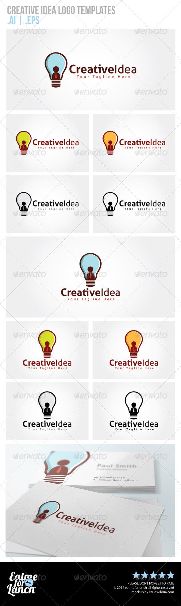GraphicRiver Creative Idea Logo Templates 6657821