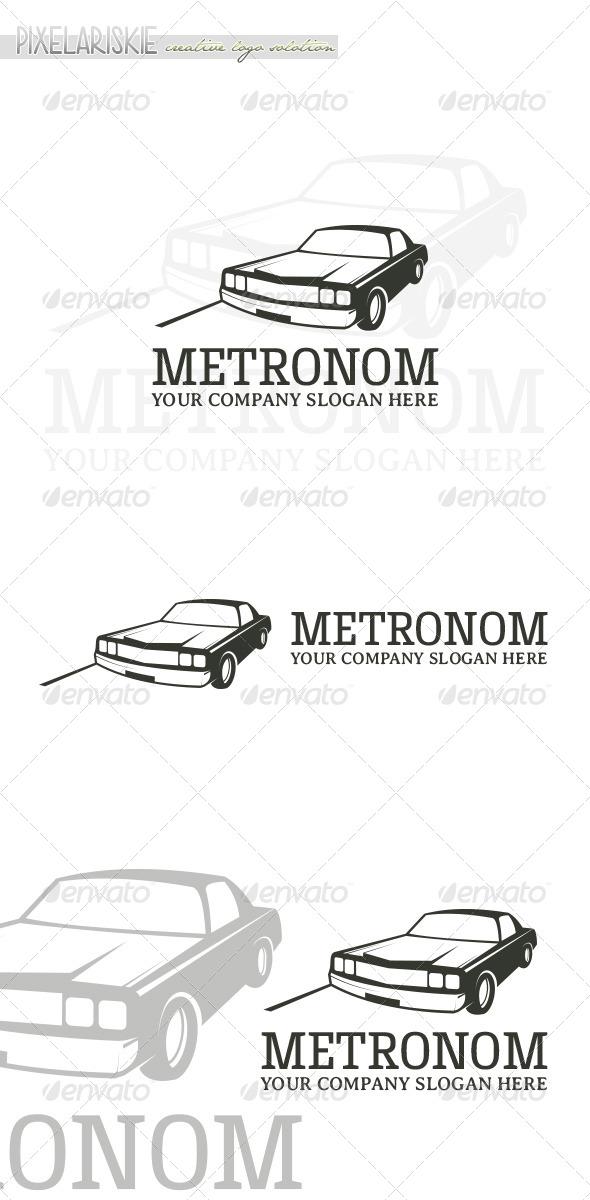GraphicRiver Metronom Vintage Logo 6657929