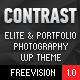 CONTRAST - Elite Photography & Portfolio WP Theme