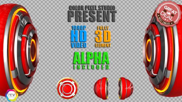3D Boom Element