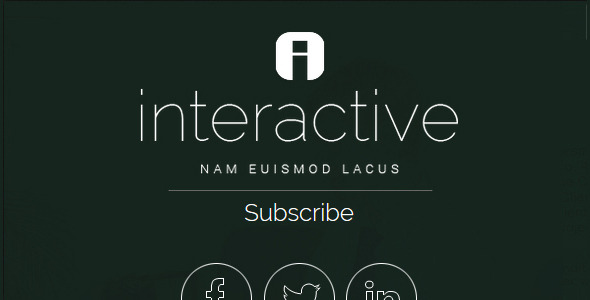 Interactive -  Responsive Ghost Theme - Indus Net