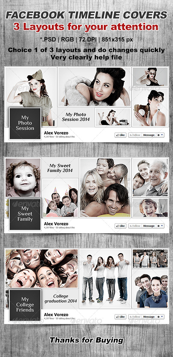 GraphicRiver Facebook Timeline Cover 6653597