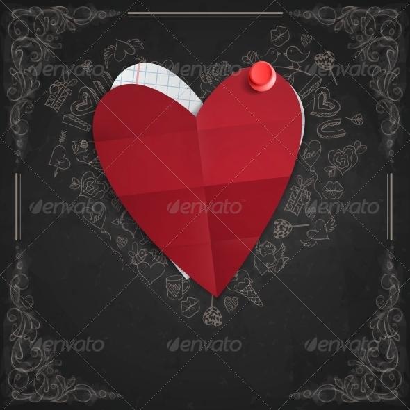 GraphicRiver Valentines Day Symbol s 6658842