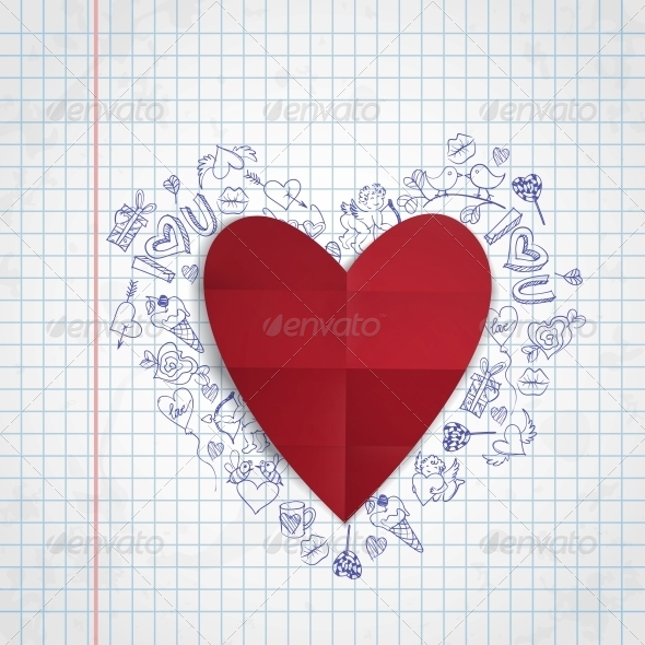 GraphicRiver Valentines Day Symbol s 6658844