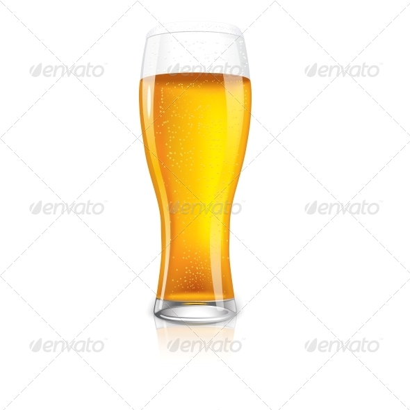 GraphicRiver Beer Glass 6658912