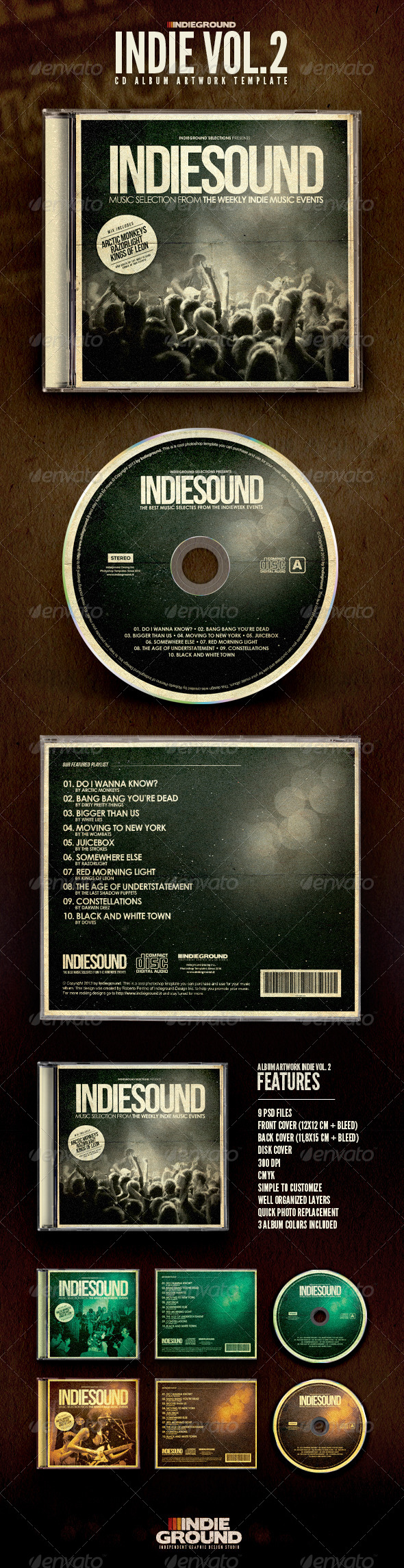 GraphicRiver Indie CD Album Artwork Vol 2 6658996