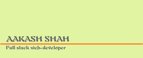 aakashshah9