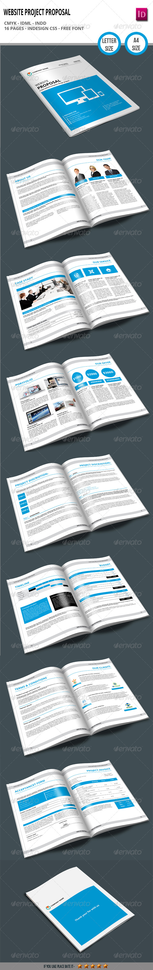 GraphicRiver Website Project Proposal 6659419
