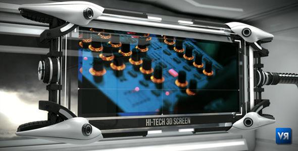 Hi Tech 3D screen