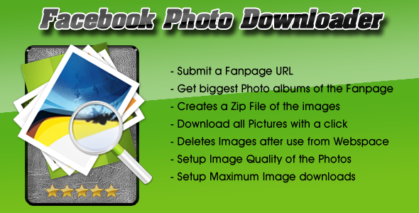 CodeCanyon Facebook Photo Downloader 6659645