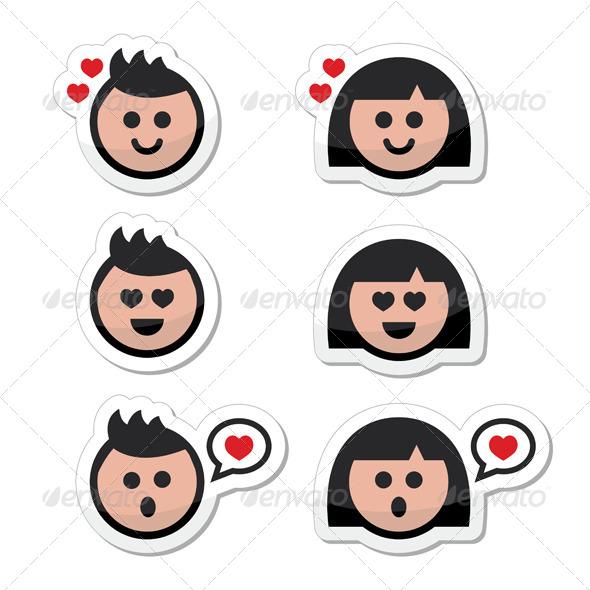 GraphicRiver Valentine s Icons 6659778