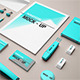 Architect Stationery Mock-Up - GraphicRiver Item for Sale