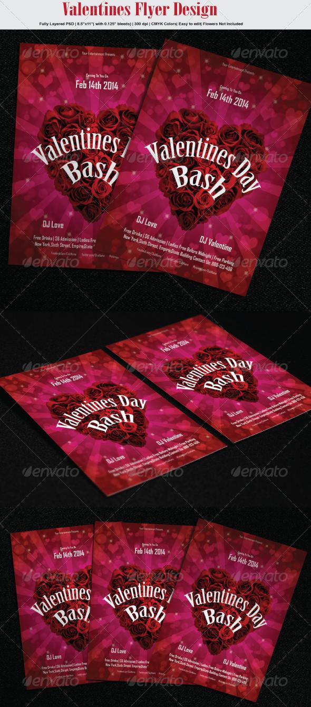 GraphicRiver Valentines Flyer 6653380