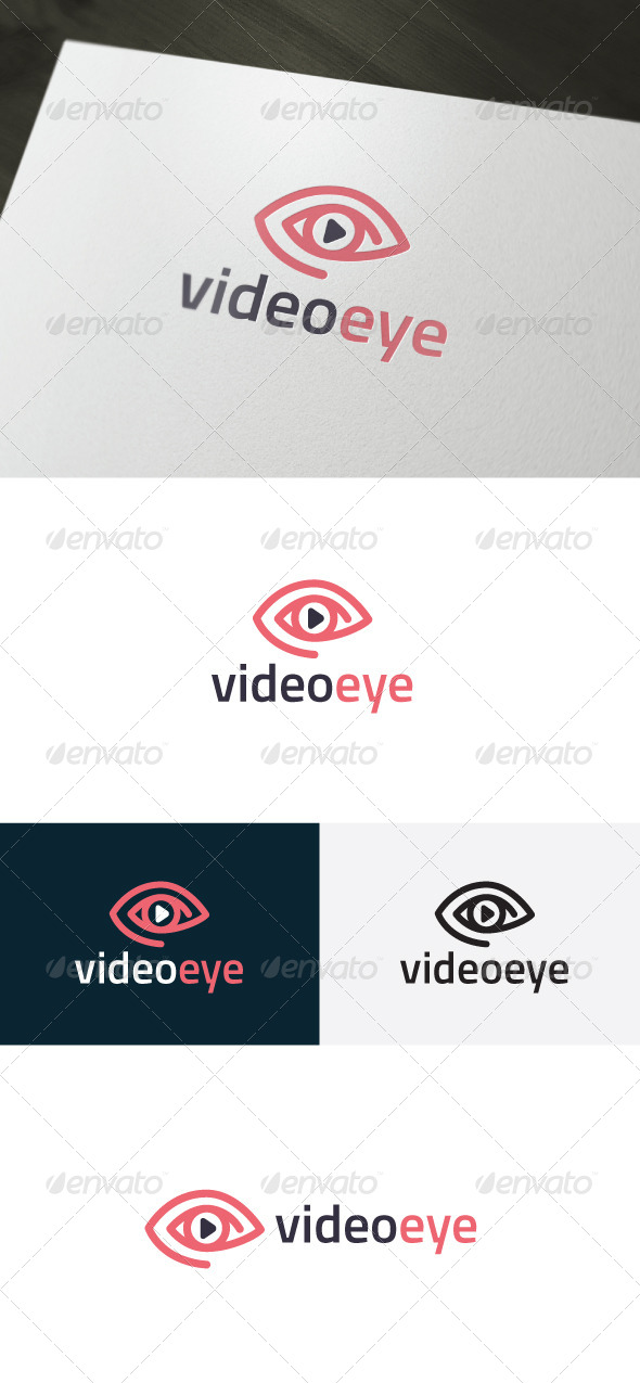 GraphicRiver Video Eye Logo 6654921