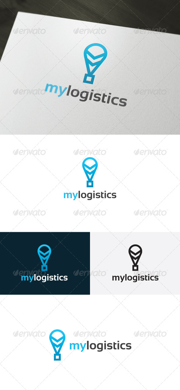 GraphicRiver My Logistics Logo 6655335