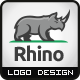 Rhino Construction Logo - GraphicRiver Item for Sale
