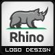 Rhino Construction Logo - GraphicRiver Item for Sale