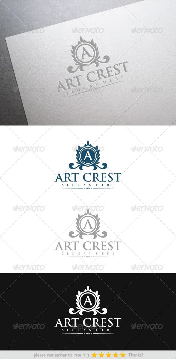 GraphicRiver Art Crest 6659948