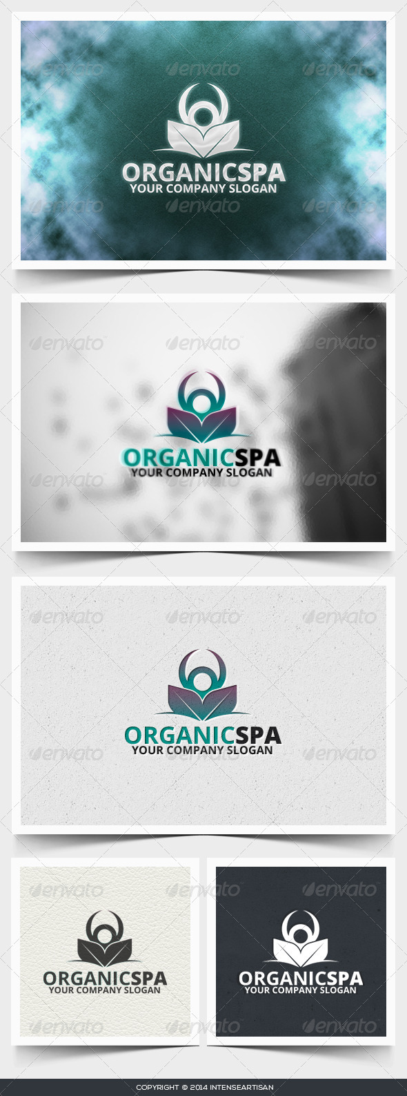 Organic Spa Logo Template - Humans Logo Templates