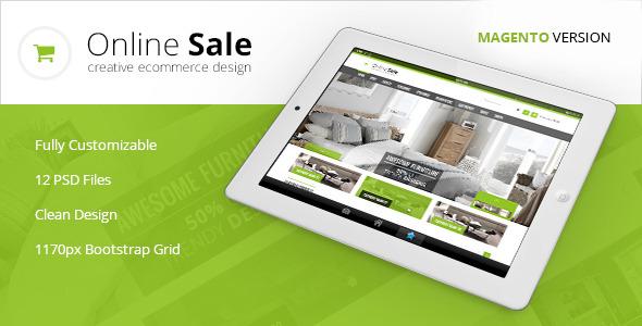 Online Sale - Premium Magento Theme