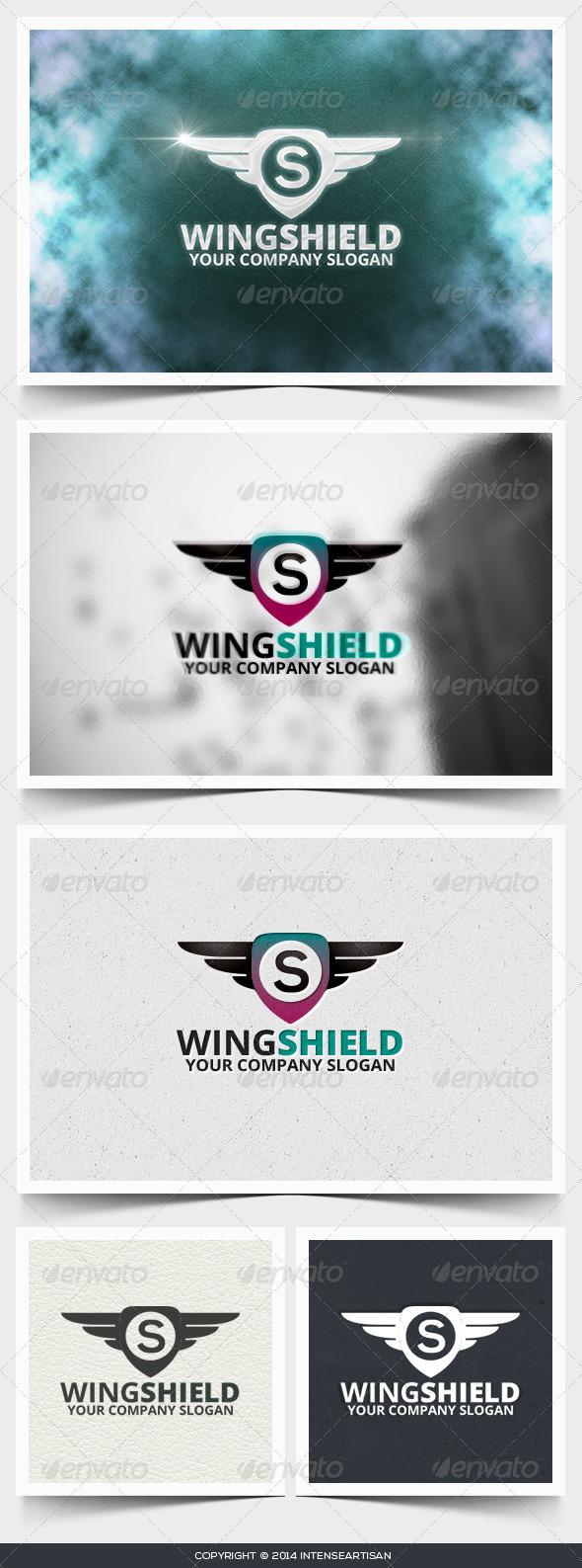 GraphicRiver Wing Shield Logo Template 6660599