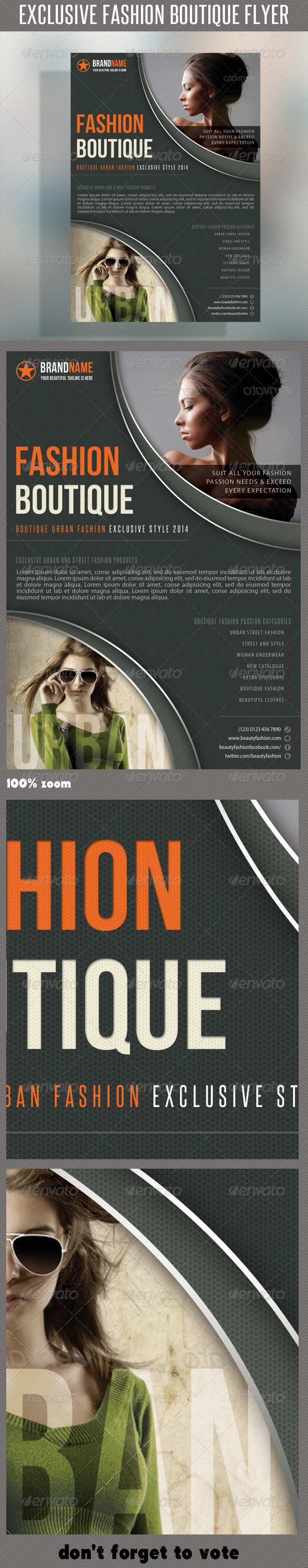 GraphicRiver Fashion Product Flyer 32 6660638