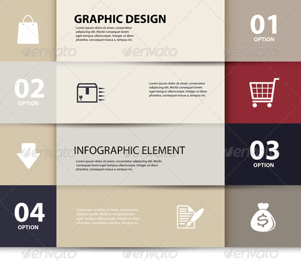 GraphicRiver Paper E-Commerce and Numbers Design Template 6660647