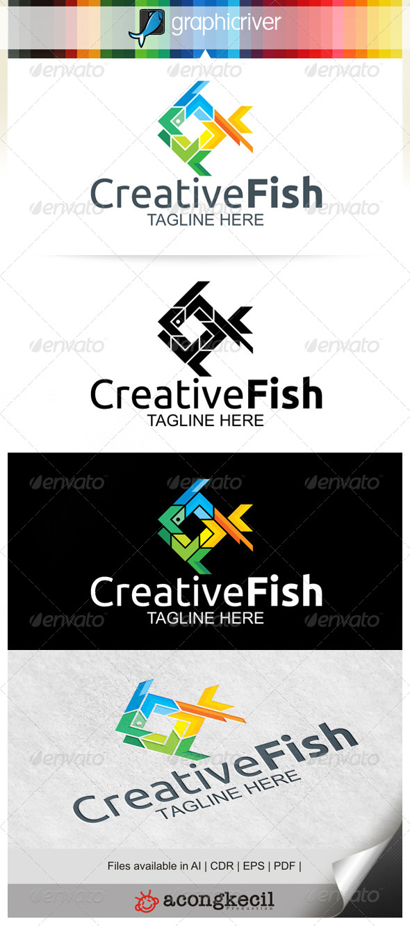 GraphicRiver Creative Fish 6661561